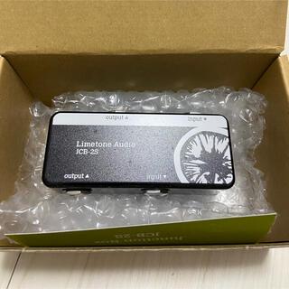 Limetone Audio JCB-2S  ジャンクションボックス ブラック(エフェクター)
