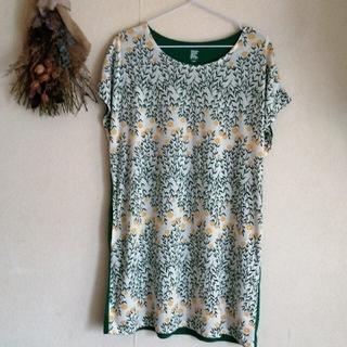 Design Tshirts Store graniph - グラニフ グリーン フリーサイズ