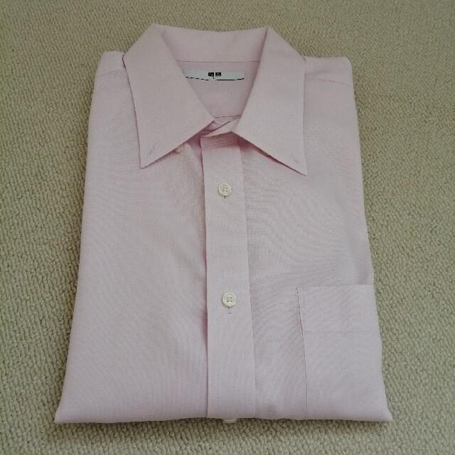 UNIQLO(ユニクロ)のUNIQLO☆ワイシャツ半袖 メンズのトップス(シャツ)の商品写真