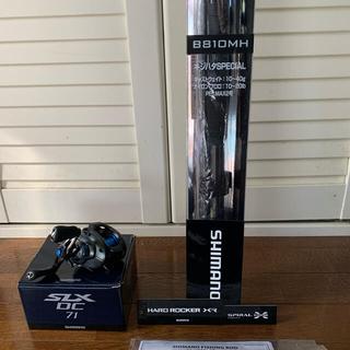 SHIMANO - シマノロッドハードロッカーXRB810MH/シマノSLXDC71HG左