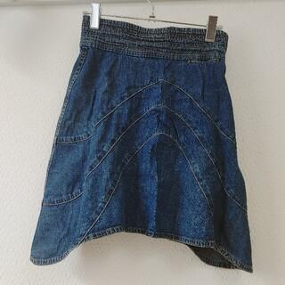 ツモリチサト(TSUMORI CHISATO)のデニムスカート(ひざ丈スカート)