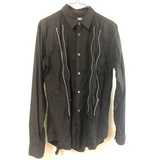 ブラックコムデギャルソン(BLACK COMME des GARCONS)のblack comme des garcons ジップアップシャツ(シャツ)