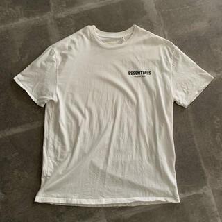 フィアオブゴッド(FEAR OF GOD)のFOG Essentials Boxy Logo T-Shirt ホワイト S(Tシャツ/カットソー(半袖/袖なし))