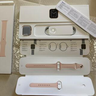 アップルウォッチ(Apple Watch)のApple Watch SE 40mm  GPS +セルラーモデル(その他)