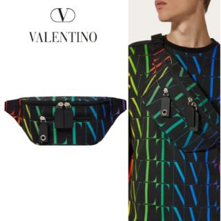 valentino garavani - VALENTINO ヴァレンティノ Times ナイロン ベルトバッグ