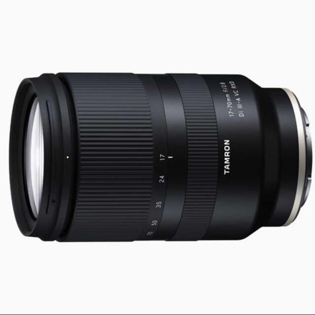 TAMRON(タムロン)のタムロンカメラレンズ 17-70mm F/2.8 Di III-A B070 スマホ/家電/カメラのカメラ(レンズ(ズーム))の商品写真