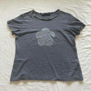 マリークワント(MARY QUANT)のMARYQUANT マリークワント ラメ デイジー プリントT(Tシャツ(半袖/袖なし))