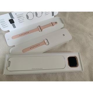 アップルウォッチ(Apple Watch)のApple Watch series6 gold GPSモデル 40mm 本体(その他)