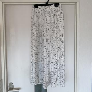 オリーブデオリーブ(OLIVEdesOLIVE)のOLIVE des OLIVE ドットスカート(ロングスカート)