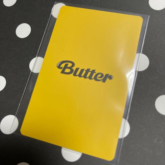 防弾少年団(BTS)(ボウダンショウネンダン)のBTS butter テヒョン Cream トレカ V テテ エンタメ/ホビーのCD(K-POP/アジア)の商品写真