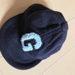 ベビーギャップ(babyGAP)のベビーギャップ 帽子 ネイビー(帽子)