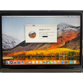 APPLE MacBook Pro 2018 13インチ  USキーボード仕様