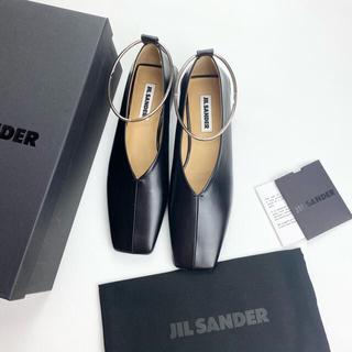 ジルサンダー(Jil Sander)のJlL SANDER ジルサンダー バレリーナ バレーシューズ 38 新品(バレエシューズ)