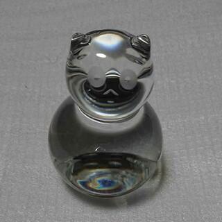 Baccarat - バカラ ネコ 猫 ネコ 置物 クリスタル