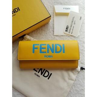 FENDI - FENDI フェンディ ロゴ コンチネンタル 長財布