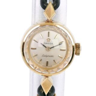 オメガ(OMEGA)のオメガ ladymatic  cal.661   K18イエローゴ(腕時計)