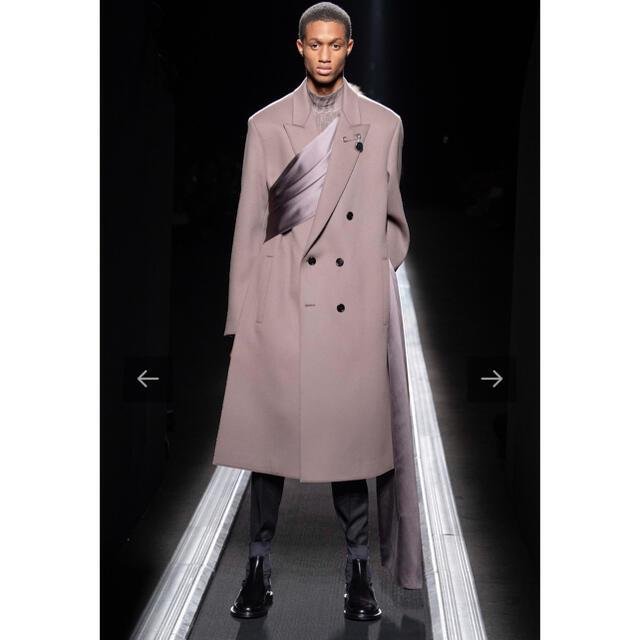 DIOR HOMME(ディオールオム)の19aw ストールコート dior homme  メンズのジャケット/アウター(チェスターコート)の商品写真