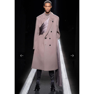 DIOR HOMME - 19aw ストールコート dior homme