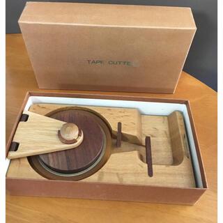 木製 テープカッター 工芸品(彫刻/オブジェ)