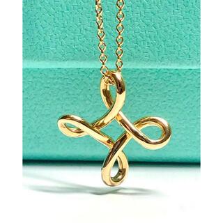 Tiffany & Co. - TIFFANY&Co ティファニー 18KT インフィニティクロス ネックレス