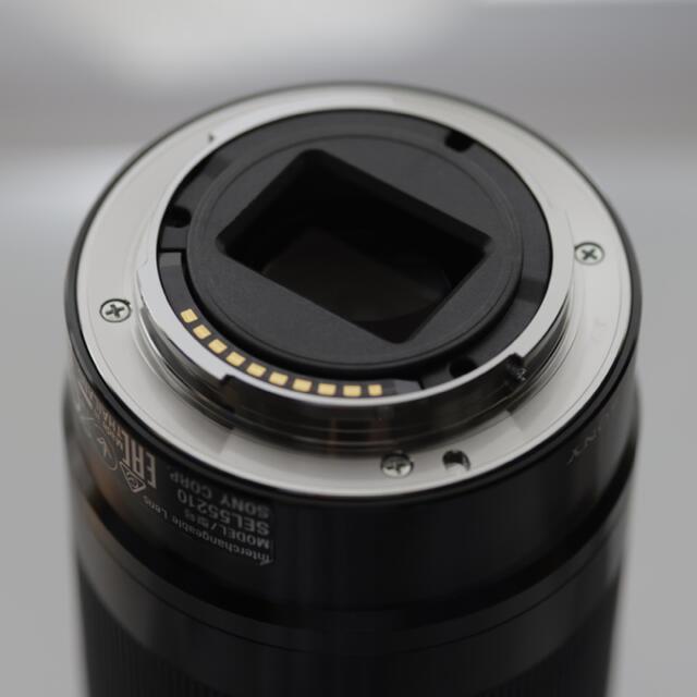 SONY(ソニー)のE 55-210mm F4.5-6.3 OSS SEL55210 ブラック スマホ/家電/カメラのカメラ(レンズ(ズーム))の商品写真