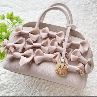 M'S GRACY - 美品 エムズグレイシー 2way ハンドバッグ ショルダーバッグ ピンク