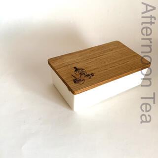 AfternoonTea -  Moomin×AfternoonTea 木蓋付き バターケース