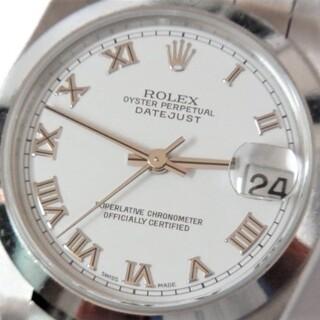 ROLEX - 本物 美品 ロレックス デイトジャスト 78240 ボーイズ F番 稼働品