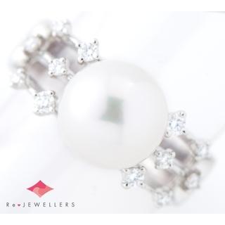 タサキ(TASAKI)の田崎真珠 10.3mm アコヤ真珠   リング・指輪(リング(指輪))
