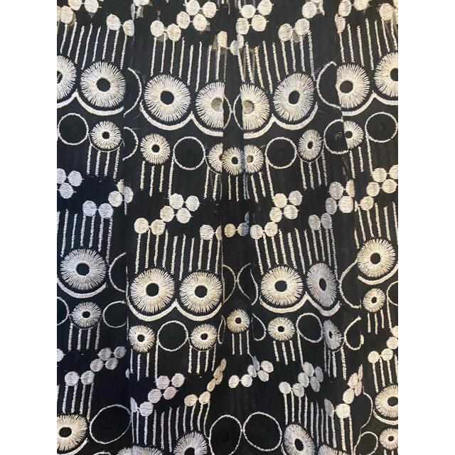 Harrods(ハロッズ)のHarrods(ハロッズ) レース刺繍 ワンピース レディースのワンピース(ひざ丈ワンピース)の商品写真