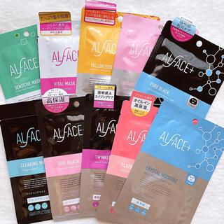 【全種類使い比べ】ALFACE フェイスマスク 10枚set(パック/フェイスマスク)
