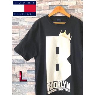 トミー(TOMMY)のTOMMY Tシャツ デカロゴ ビッグプリント アメカジ(Tシャツ/カットソー(半袖/袖なし))