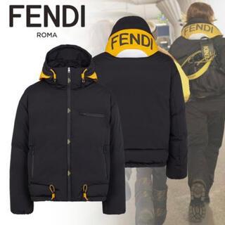 フェンディ(FENDI)のフェンディ テクニカル ファブリック ダウンジャケット(ダウンジャケット)