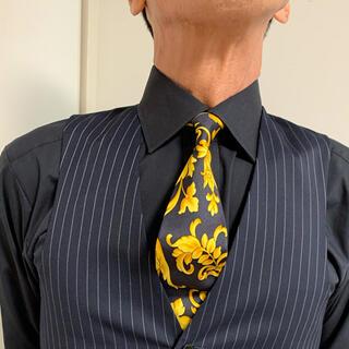 ジャンニヴェルサーチ(Gianni Versace)の美品 ジャンニヴェルサーチシルクネクタイ(ネクタイ)