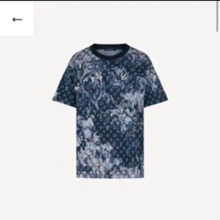 ルイヴィトン(LOUIS VUITTON)のルイヴィトン タペストリーモノグラムTシャツ ネイビー(Tシャツ/カットソー(半袖/袖なし))