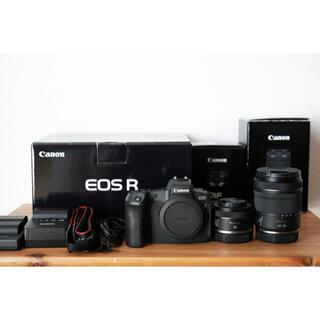 Canon - Canon(キャノン)EOS R 本体+レンズ2本セット