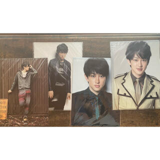 カンジャニエイト(関ジャニ∞)の横山裕 クリアファイル 4枚セット(アイドルグッズ)