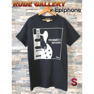 RUDE GALLERY - RUDE GALLERY × Epiphone  半袖シャツ Sサイズ