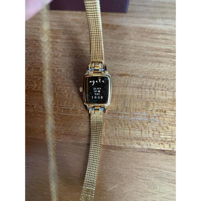 agete(アガット)の【美品】agate 腕時計 人気モデル🌸イエローゴールド レディースのファッション小物(腕時計)の商品写真