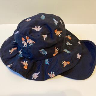 プティマイン(petit main)のプティマイン 帽子 サイズ 50 恐竜柄(帽子)