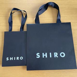 シロ(shiro)のshiro ショップバックセット(ショップ袋)