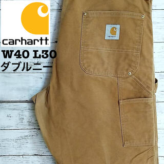 カーハート(carhartt)のCarhartt ダックペインターパンツ ダブルニー W40(ペインターパンツ)