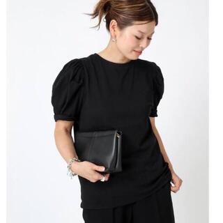 DEUXIEME CLASSE - 【CELERI/セルリ】PUFF Tシャツ ブラック