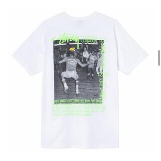 ステューシー(STUSSY)のstussy union ROLLER DISCO TEE  Sサイズ(Tシャツ/カットソー(半袖/袖なし))