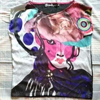 デシグアル(DESIGUAL)のDesigual & Christian Lacroix デザインTシャツ(Tシャツ(半袖/袖なし))