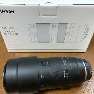 タムロン(TAMRON)のTAMRON 100-400F4.5-6.3 DI VC USD(A035E)(レンズ(ズーム))