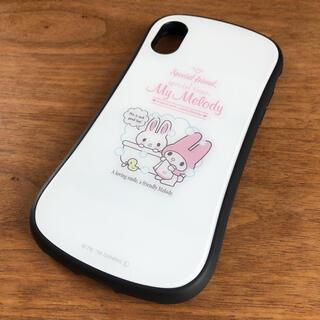 サンリオ(サンリオ)の☆美品☆iPhone X、Xs 用 マイメロディ スマホケース スマホカバー 白(iPhoneケース)