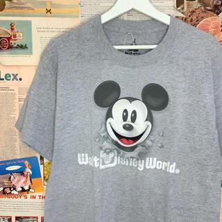 Disney - 古着 Walt Disney World by Hanes Tシャツ ミッキー