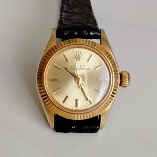 ロレックス(ROLEX)のしろちん様専用ROLEX PERPETUAL Ref6619 K14YG(腕時計)