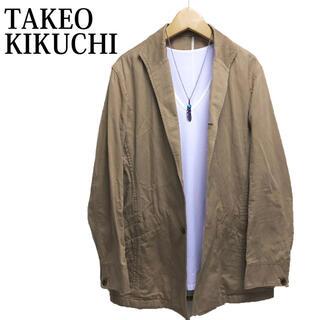 タケオキクチ(TAKEO KIKUCHI)のTAKEO KIKUCHI テーラードジャケット ワークジャケットカバーオール(テーラードジャケット)